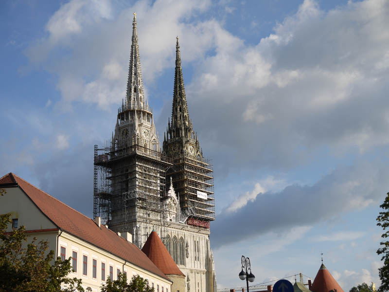 Zagreb Cathedral.