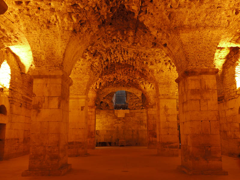 Diocletian\'s Palace, Split.