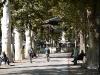 Public park  in Zagreb.
