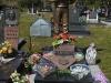 Serb war veteran\'s grave in Bosnia.