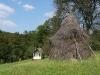 Weird haystacks dot the Bosnian landscape.