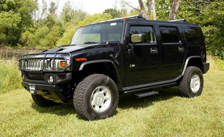 Hummer H2 Performance Vehicle Photos